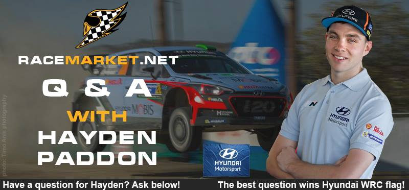 q&a with hayden paddon