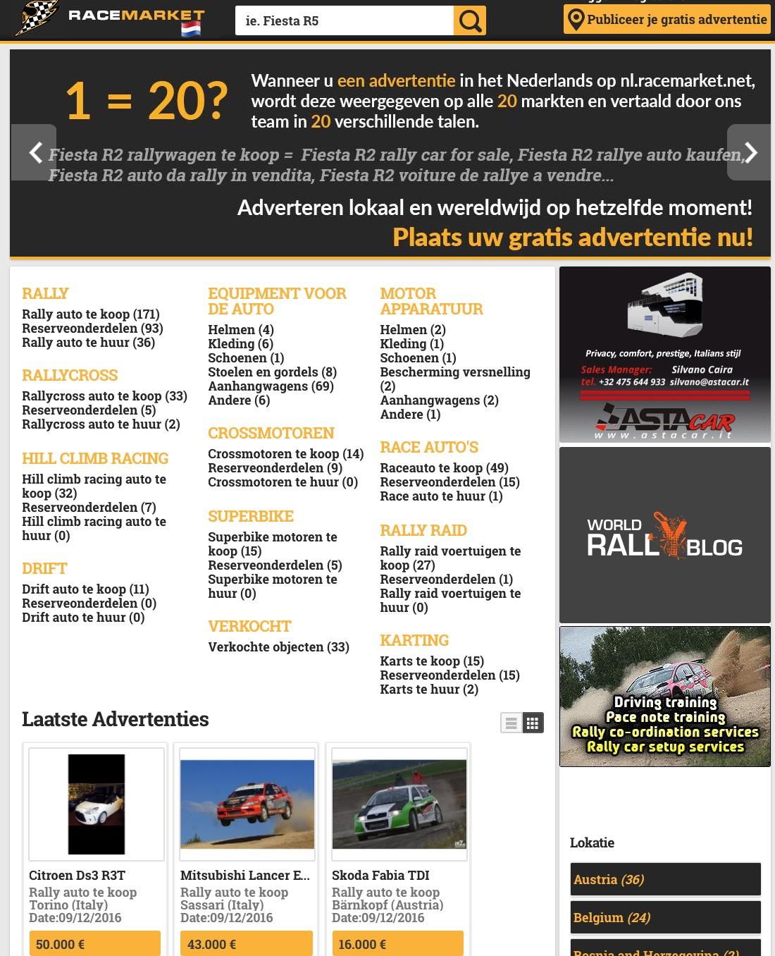 Racemarket.net Nederland