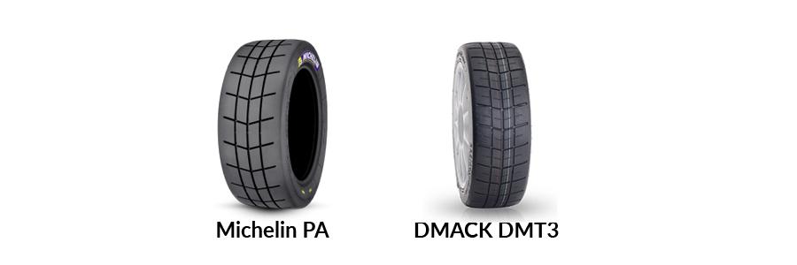 rally rain tarmac tyres dmack michelin