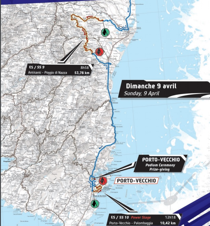 tour de corse 2017 sunday stages