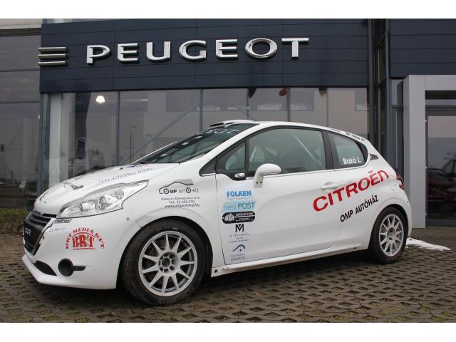 2 Peugeot 208 R2 & 3 Citroen C2R2 Max & 1 Citroen Saxo - 2