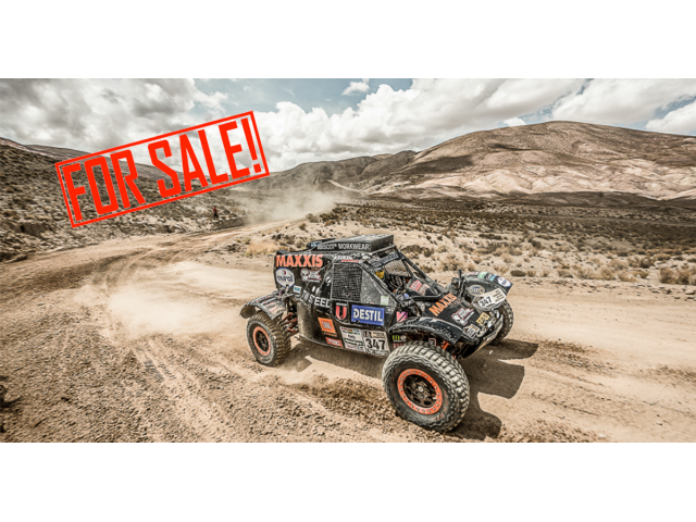 Maxxis Dakar rally raid buggy Rally raid vehicles for sale Netherlands