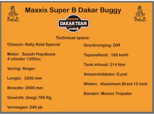 Maxxis Dakar buggy de rally raid - 2