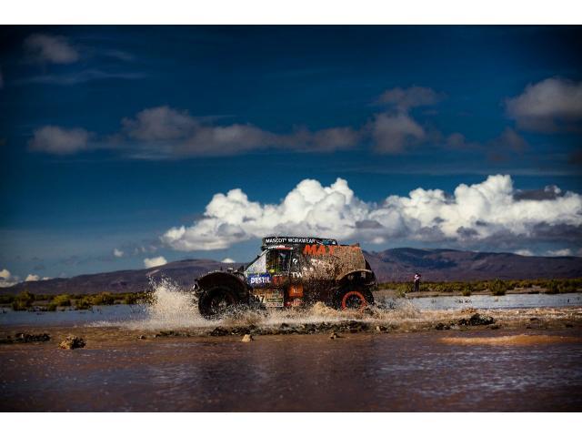 Maxxis Dakar buggy de rally raid - 5