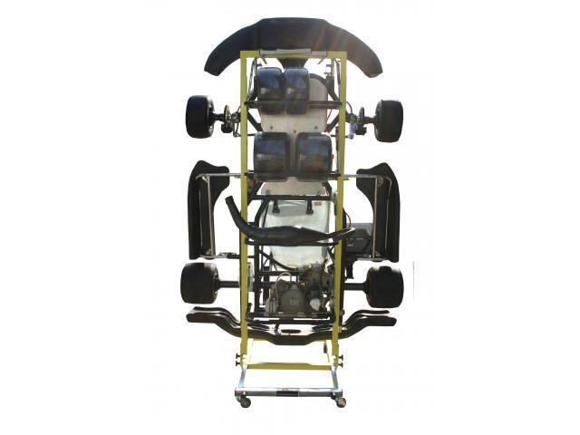 Vertikala hopfällbar vagn - 2