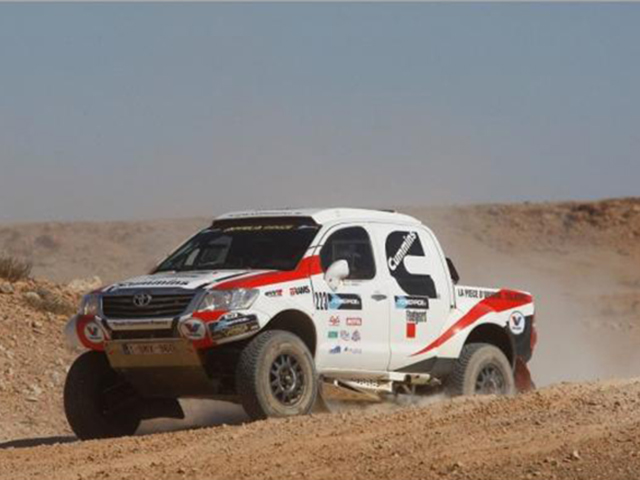 Toyota Hilux Overdrive Rally raid vehicles for sale France