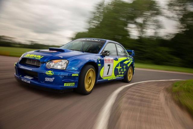 2003 Subaru Impreza WRC 2003 - Petter Solberg Monte Carlo - 1