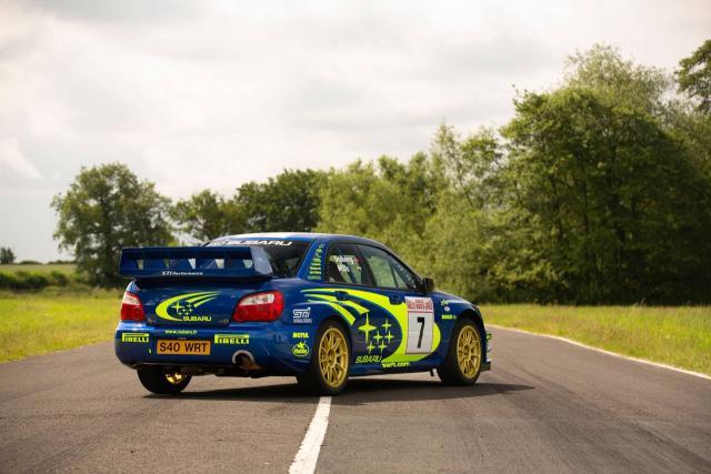 2003 Subaru Impreza WRC 2003 - Petter Solberg Monte Carlo - 4