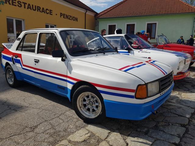 Škoda 130 LR EVO Race cars for sale Czech Republic
