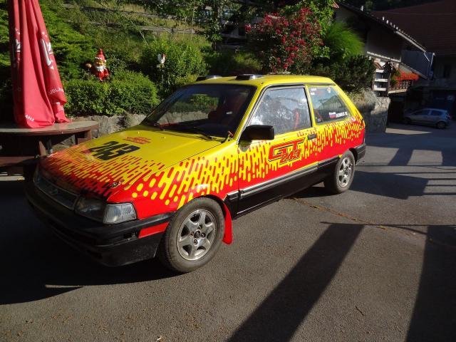 Subaru Justy 4x4 Rallija mašīnas pārdod Slovenia