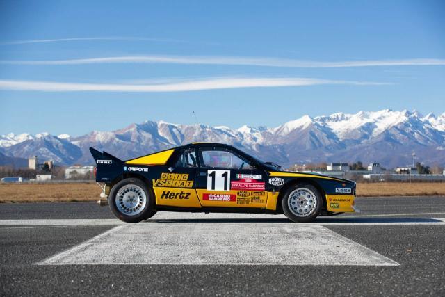 1983 Lancia 037 Rally Group B - Tabaton & Capone - Olio Fiat - 2