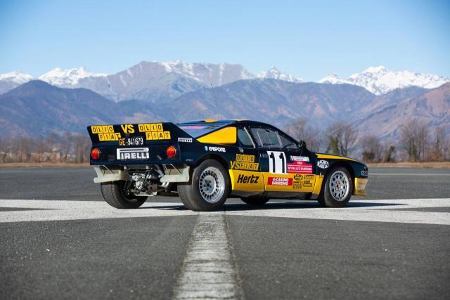 1983 Lancia 037 Rally Group B - Tabaton & Capone - Olio Fiat - 3