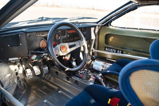 1983 Lancia 037 Rally Group B - Tabaton & Capone - Olio Fiat - 4