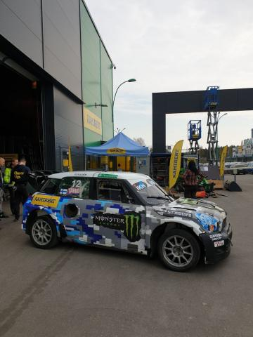 MINI Countryman Supercar Carros de Ralicross para venda Finland