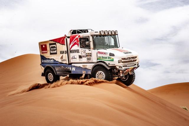 Scania Torpedo Rally Truck, T4-2 (ASO) - 5