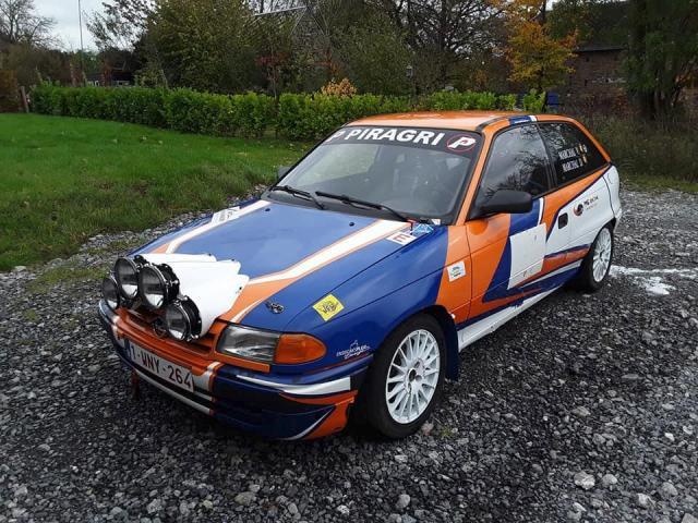 Opel Astra gsi rally - 1