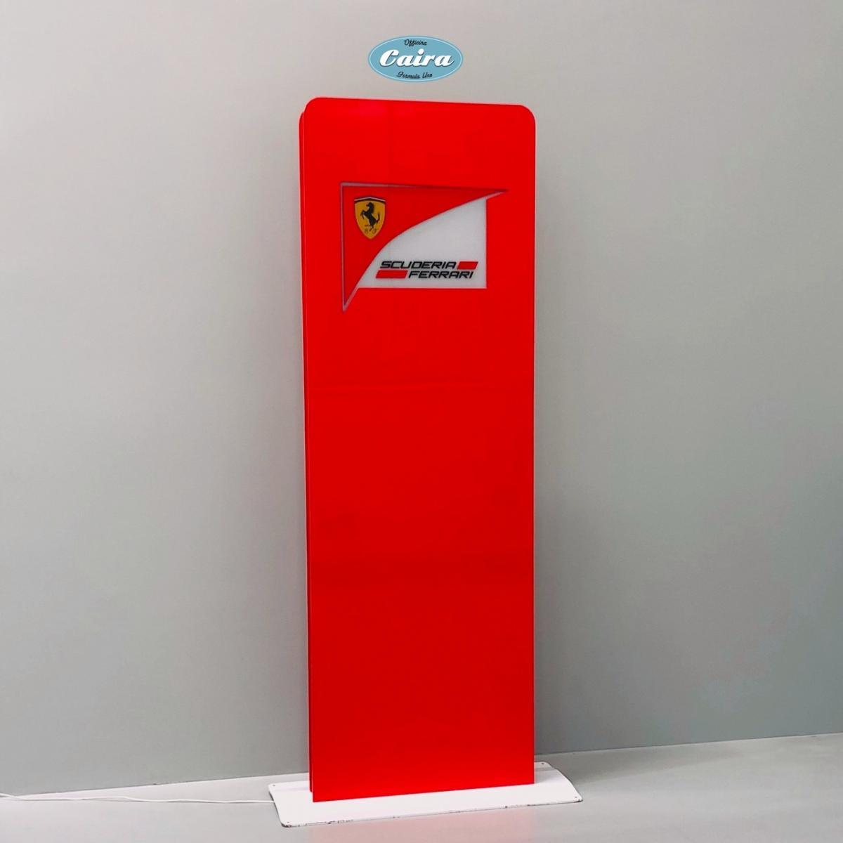 Original Totem, Signboard Scuderia Ferrari - 2000s - F1 - 3