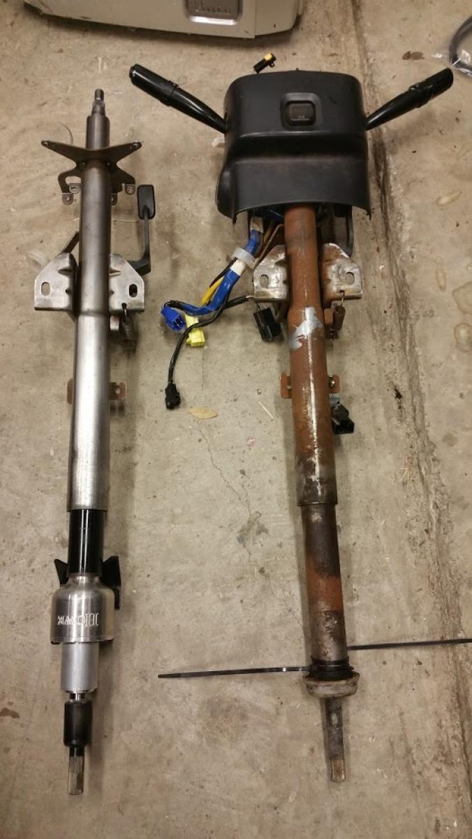 L&E Fabrications 1.5:1 Quick Steering Column - Subaru Impreza WRX STI 04-07 - 2