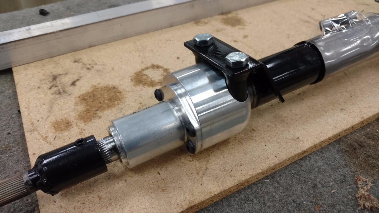 L&E Fabrications 1.5:1 Quick Steering Column - Subaru Impreza WRX STI 04-07 - 3