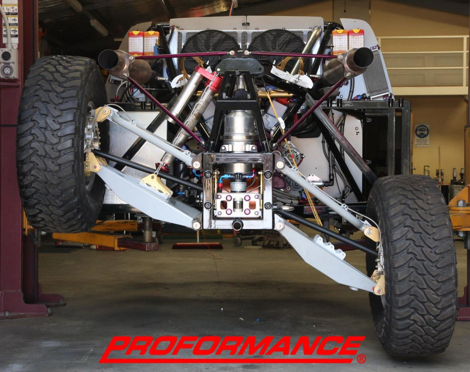 4X4 Desert Racing Truck - Nascar Engine - IFS - IRS - 3