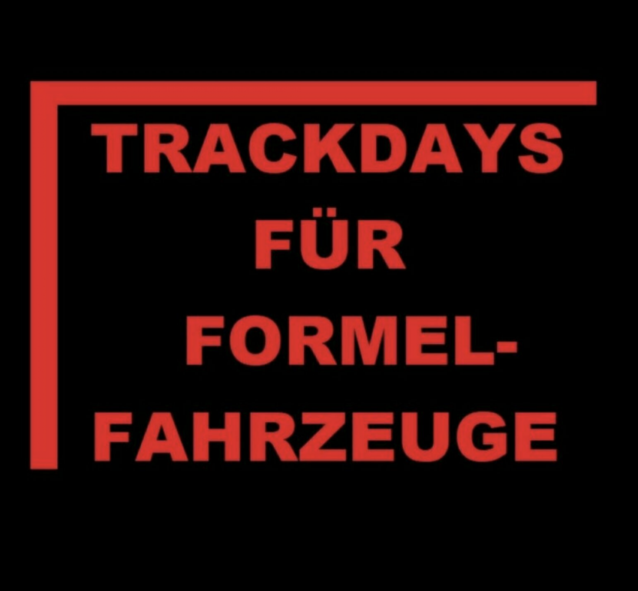 Track days for racing vehicles on August 29th 2020 - 1