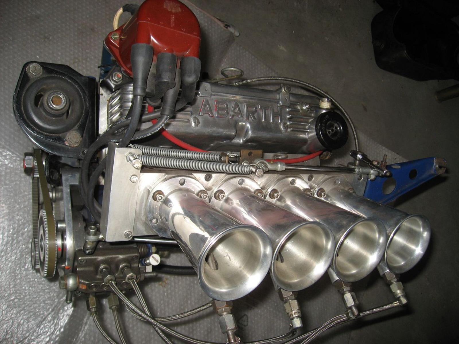 Engine Abarth 112 - 1