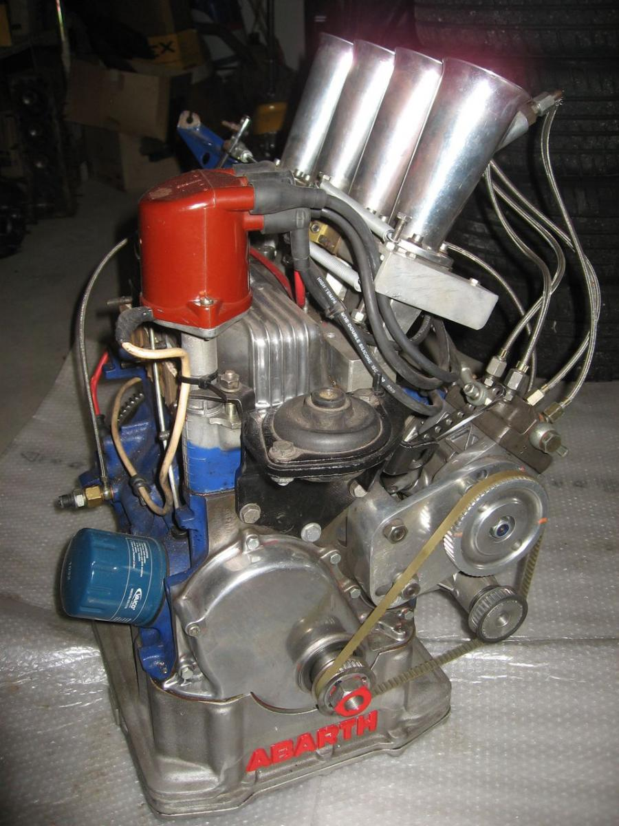 Engine Abarth 112 - 2