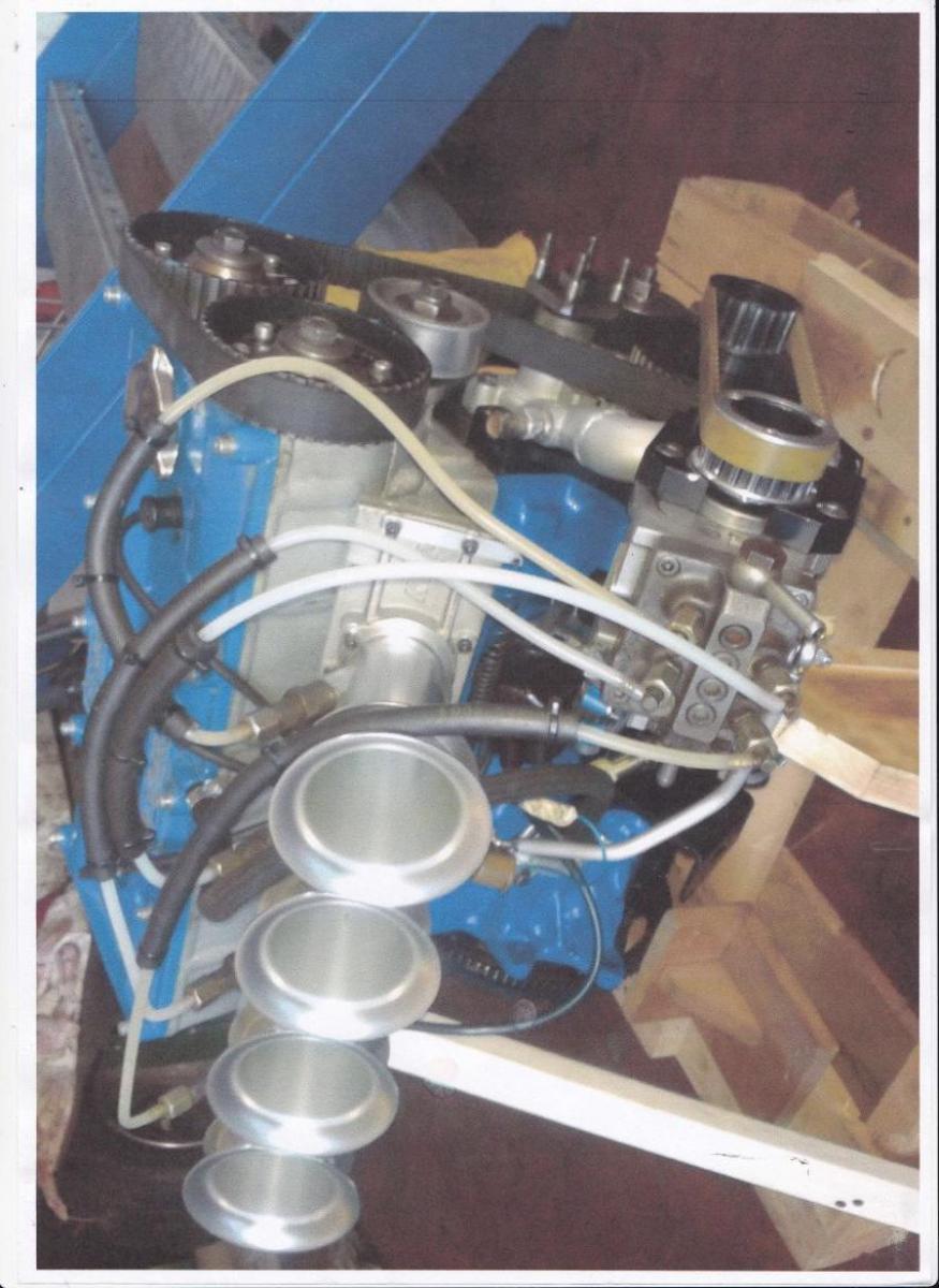 Engine BDA 1870 - 3