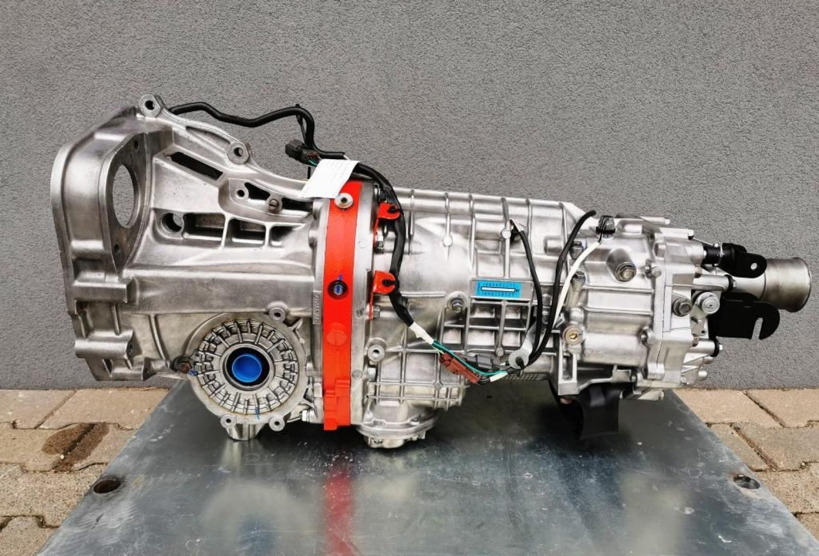 Subaru Impreza Hewland dogbox DCCD - 1