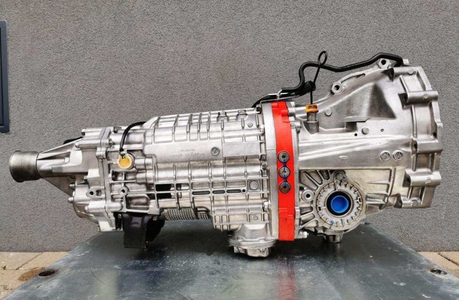 Subaru Impreza Hewland dogbox DCCD - 2