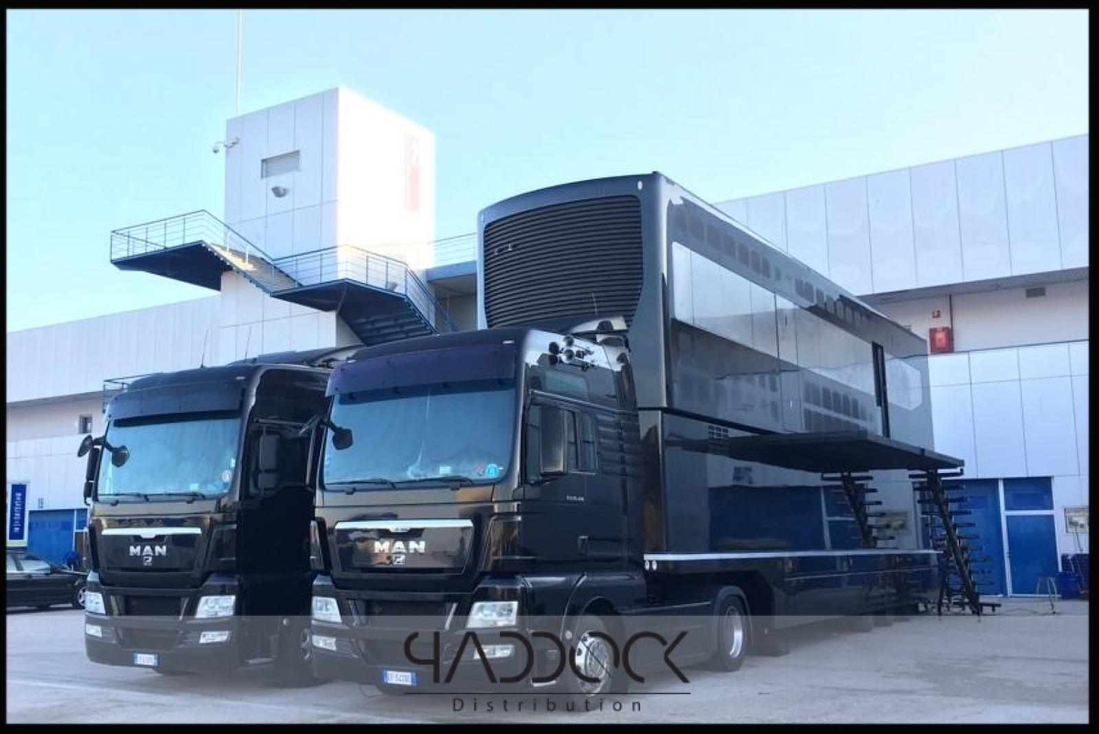 USED TRAILER WHEELBASE ENGINEERING BY PADDOCK DISTRIBUTION - 1