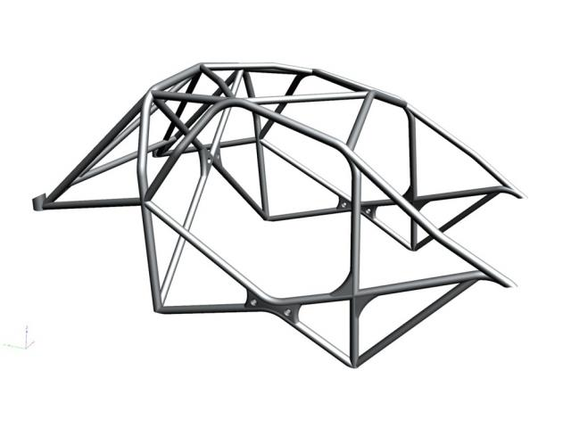 ROLLBAR – TUBULAR CHASSIS – RACECARE CHASSIS CONSTRUCTION - 1
