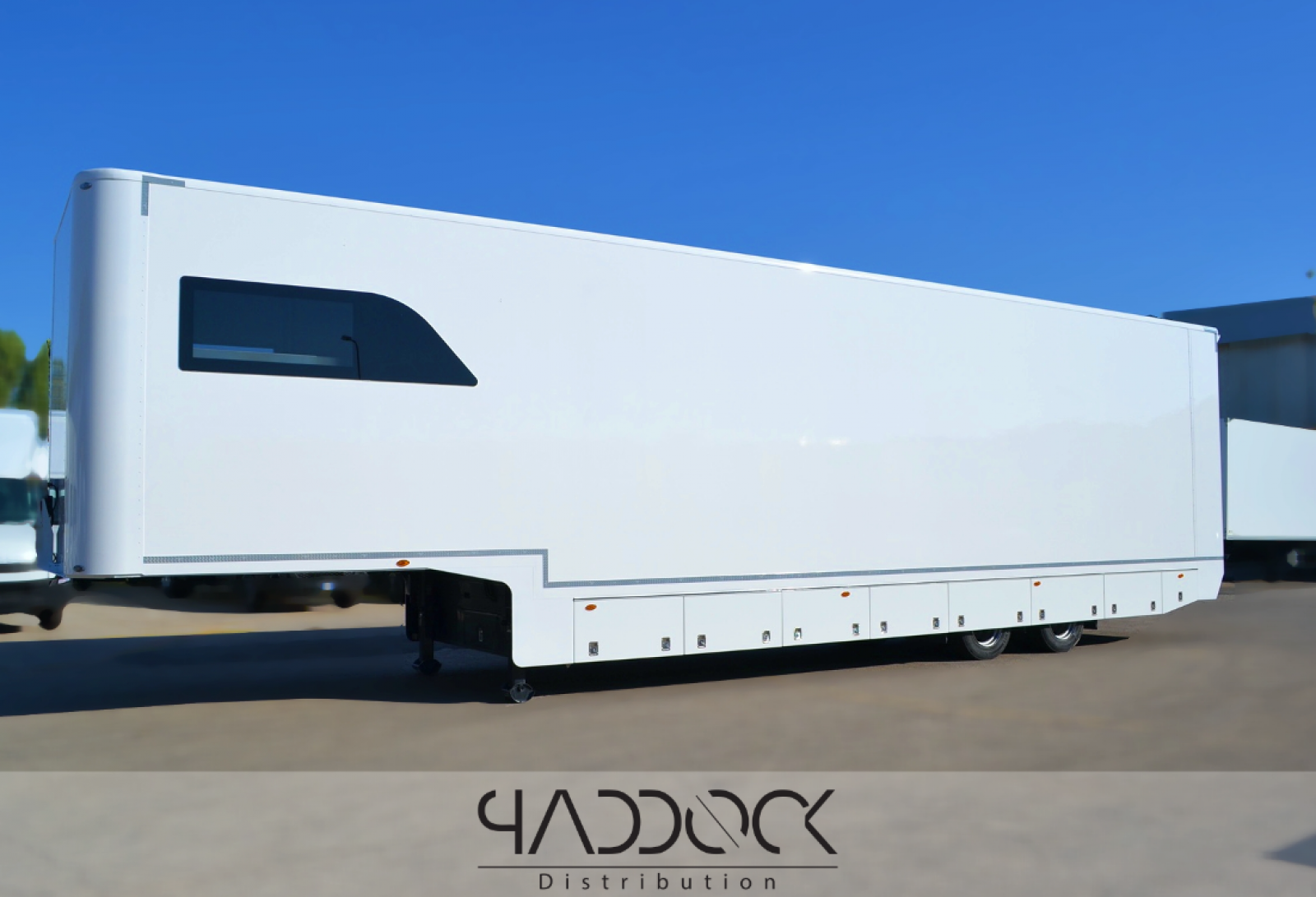MIELE trailer for rent by PADDOCK DISTRIBUTION - 1