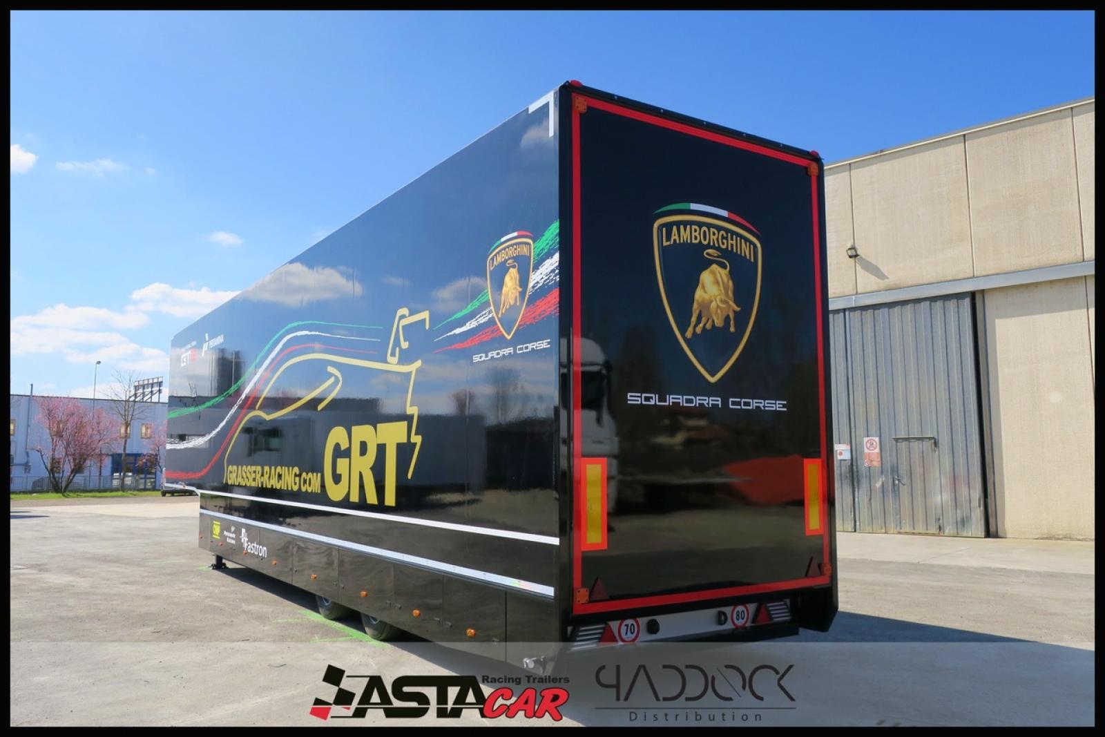 USED TRAILER ASTA CAR Y2 BY PADDOCK DISTRIBUTION - 3