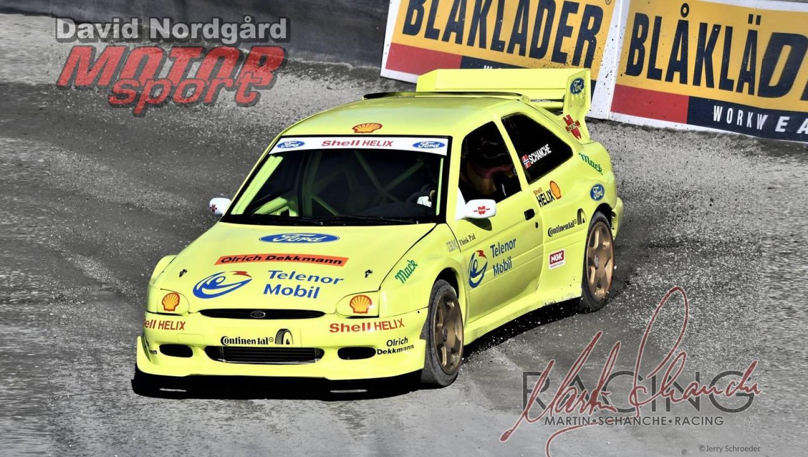 Ford Escort RS 2000 F1RX Martin Schanche - 1