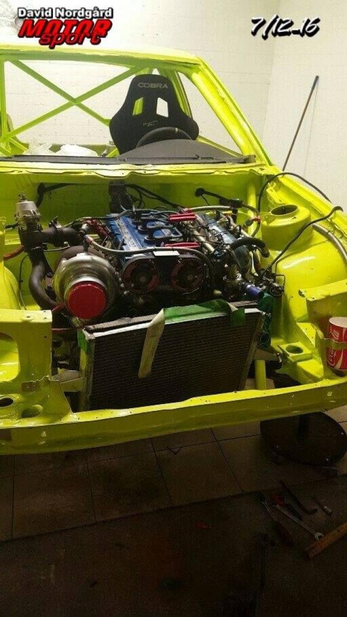 Ford Escort RS 2000 F1RX Martin Schanche - 5