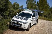 MITSUBISHI Outlander 4x4 PHEV Hybrid og sol til rallyorientering og ekspedition - Billede 2
