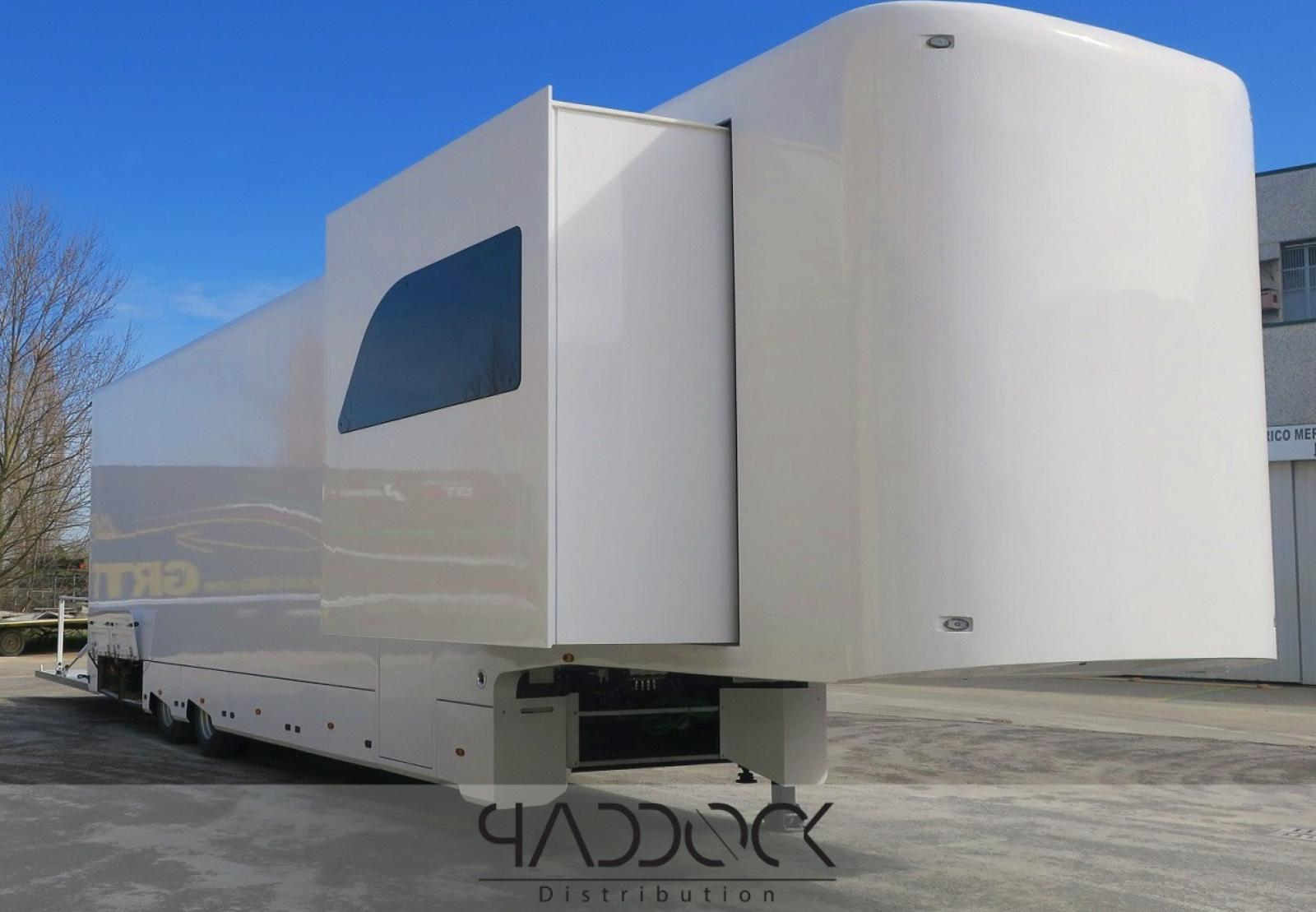 Z2 SLIDE 4699 ASTA CAR TRAILER BY PADDOCK DISTRIBUTION - 1