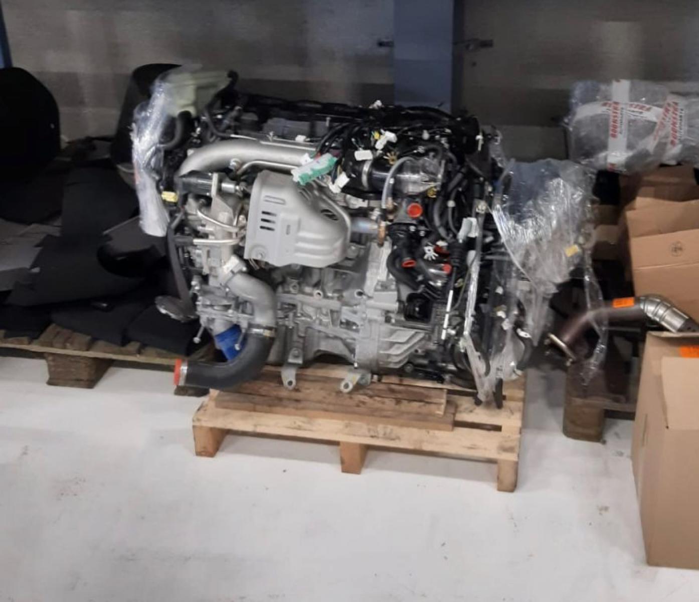 Honda K20C1 motor 235 kW, 325 HP - 1