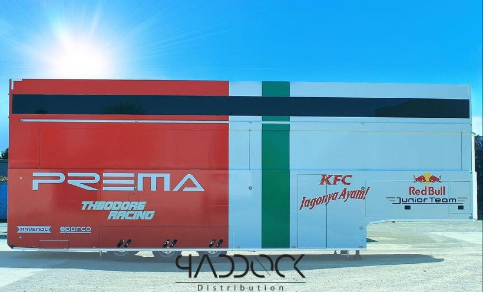 2021 ASTA CAR TRAILER BY PADDOCK DISTRIBUTION - 2