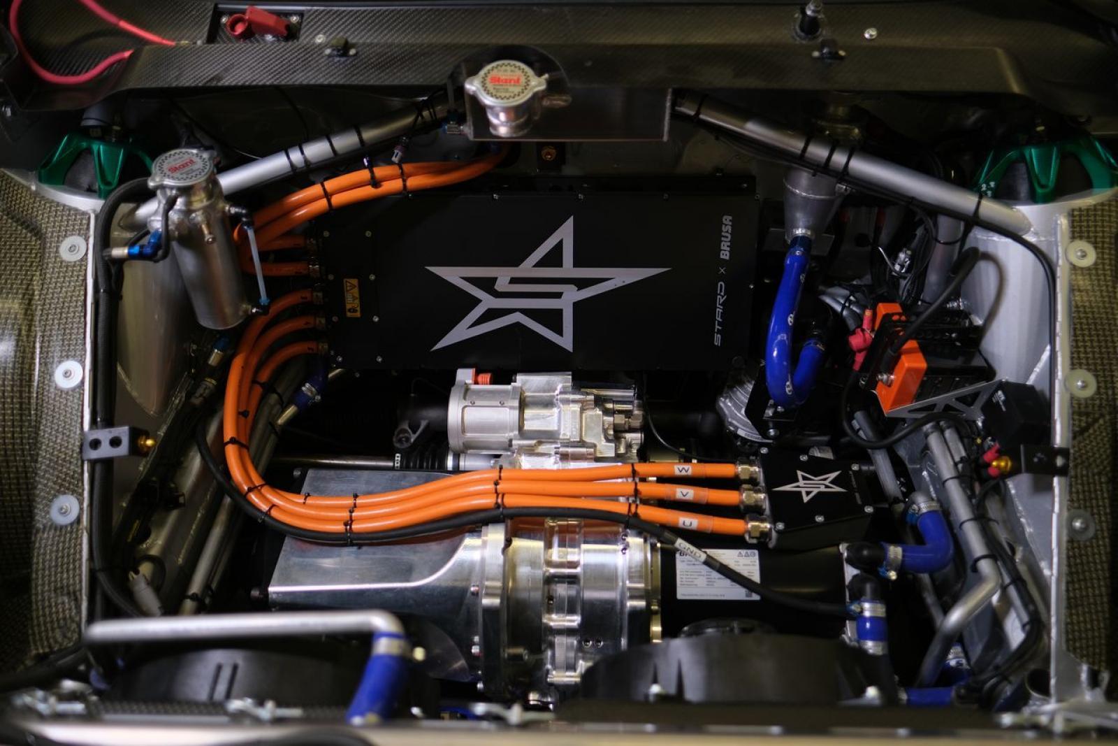 STARD Ford Fiesta ERX 612 HP 4WD elektrisk racerbil (ny og ejet) - 5