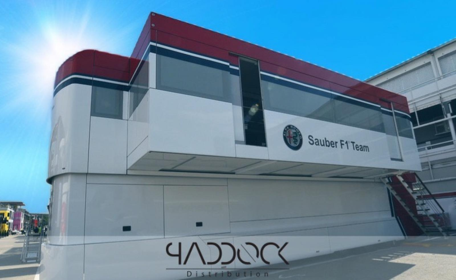 EX Formula 1 engineer trailer ALFA ROMEO RACING - 2