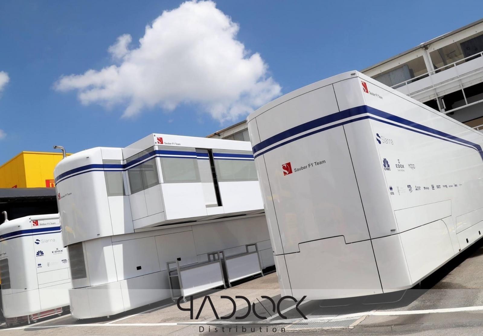 EX Formula 1 engineer trailer ALFA ROMEO RACING - 5
