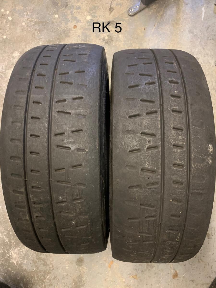 Pirelli RK5 195/50 R16 rally tyres (dry slick) - 1