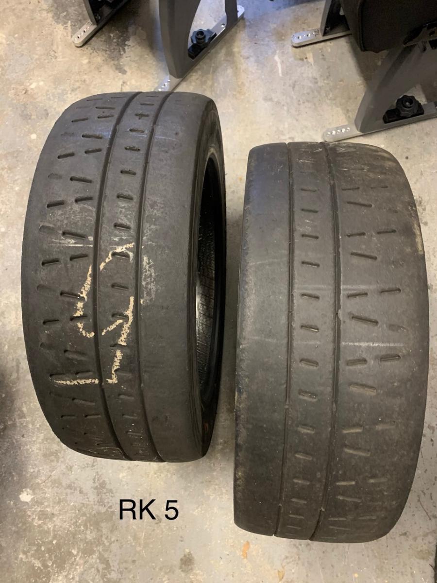Pirelli RK5 195/50 R16 rally tyres (dry slick) - 3