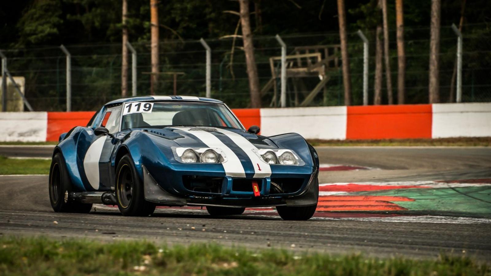 Corvette C3 Stingray FIA Historic Race Car - 5
