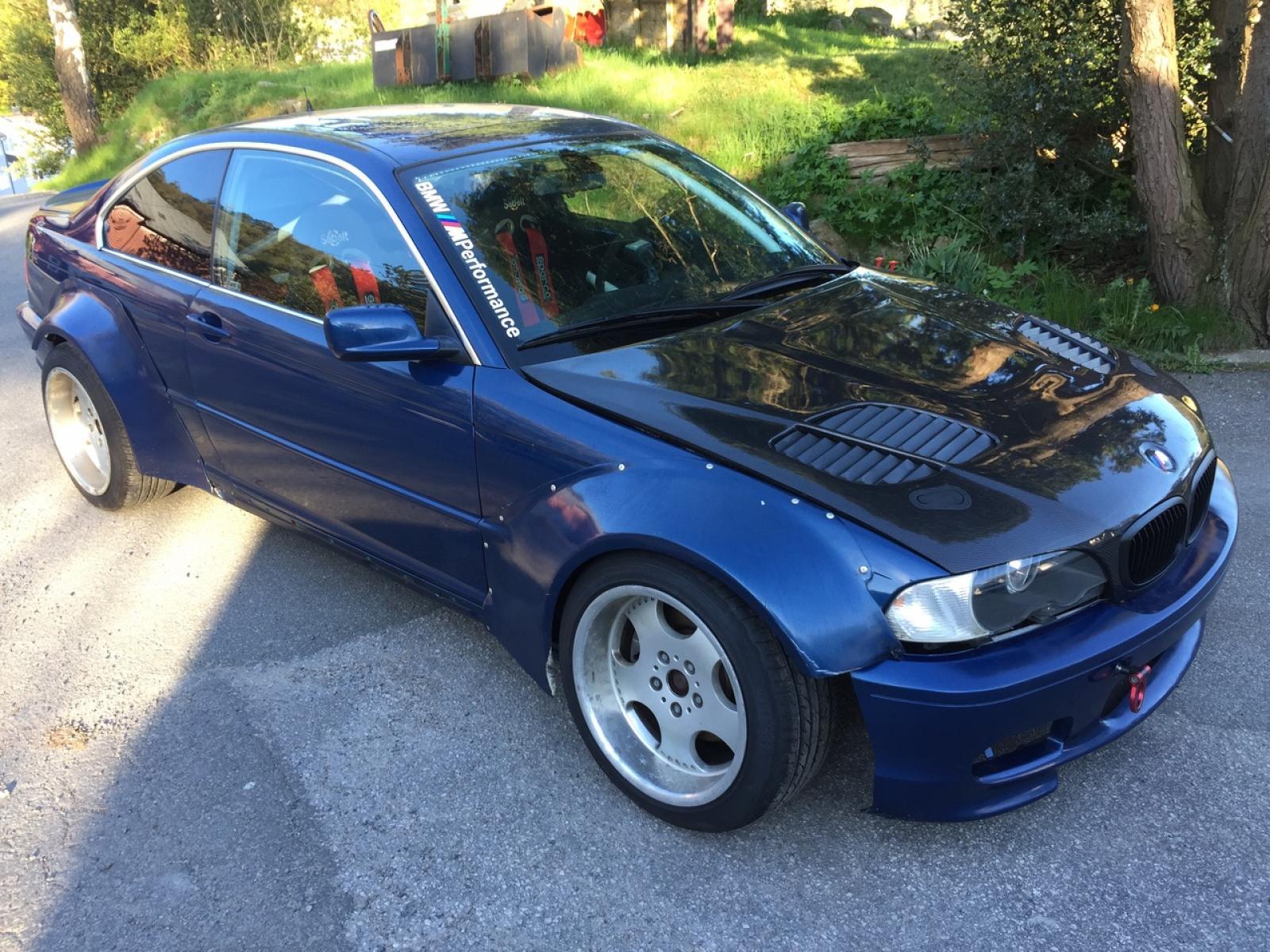 BMW E46 M62 V8 - 1