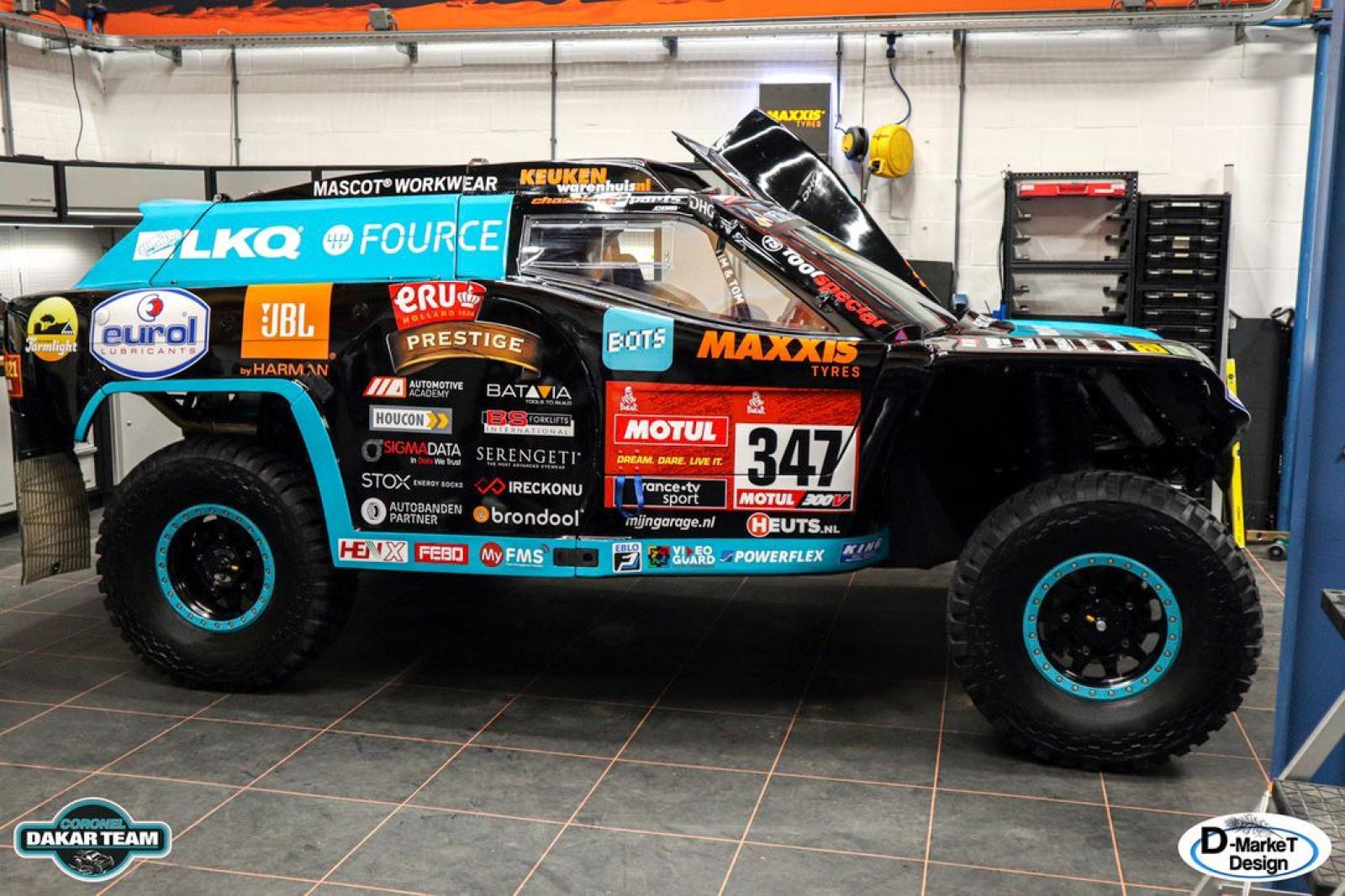 Coronel Dakar Score Buggy - 1