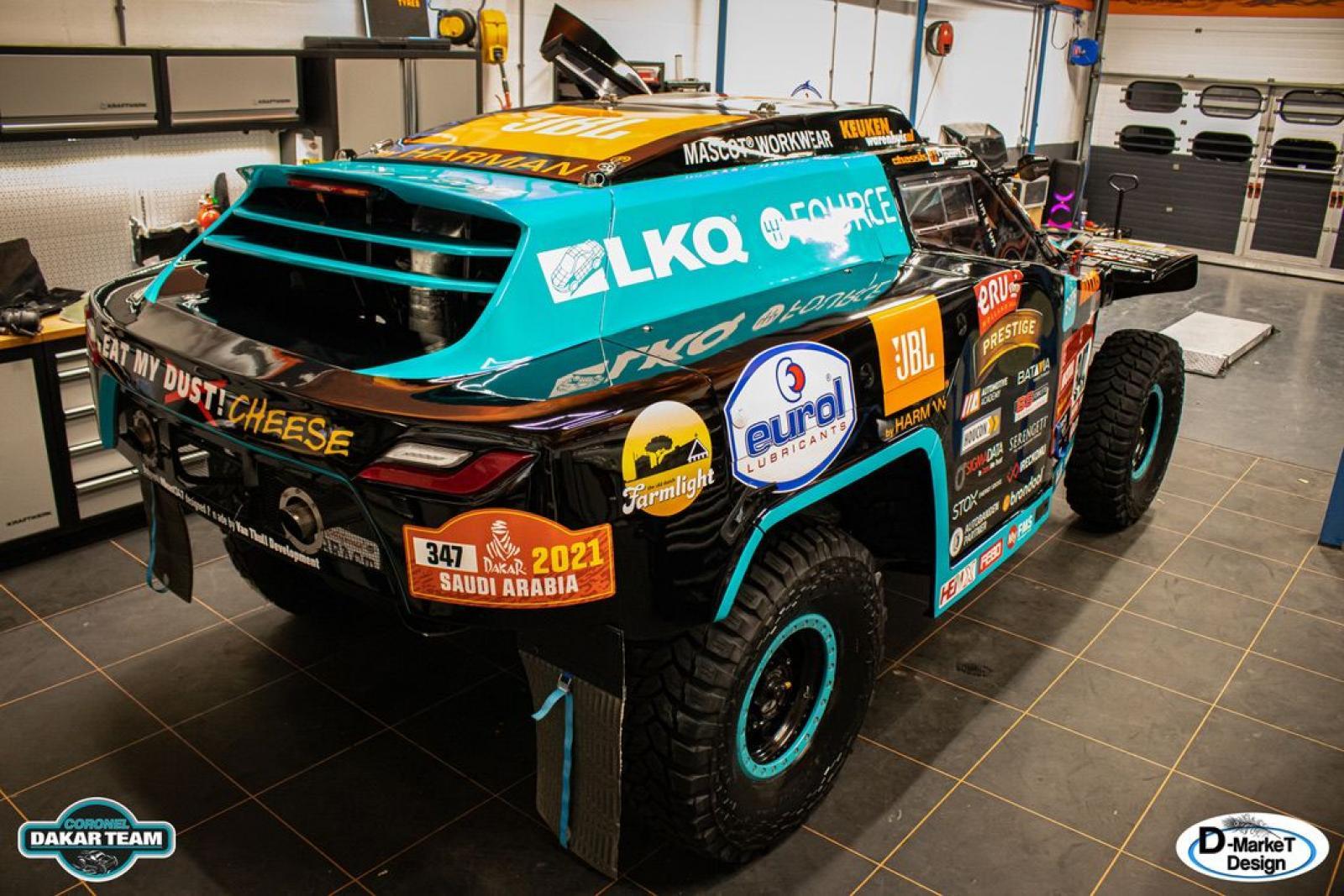 Coronel Dakar Score Buggy - 2