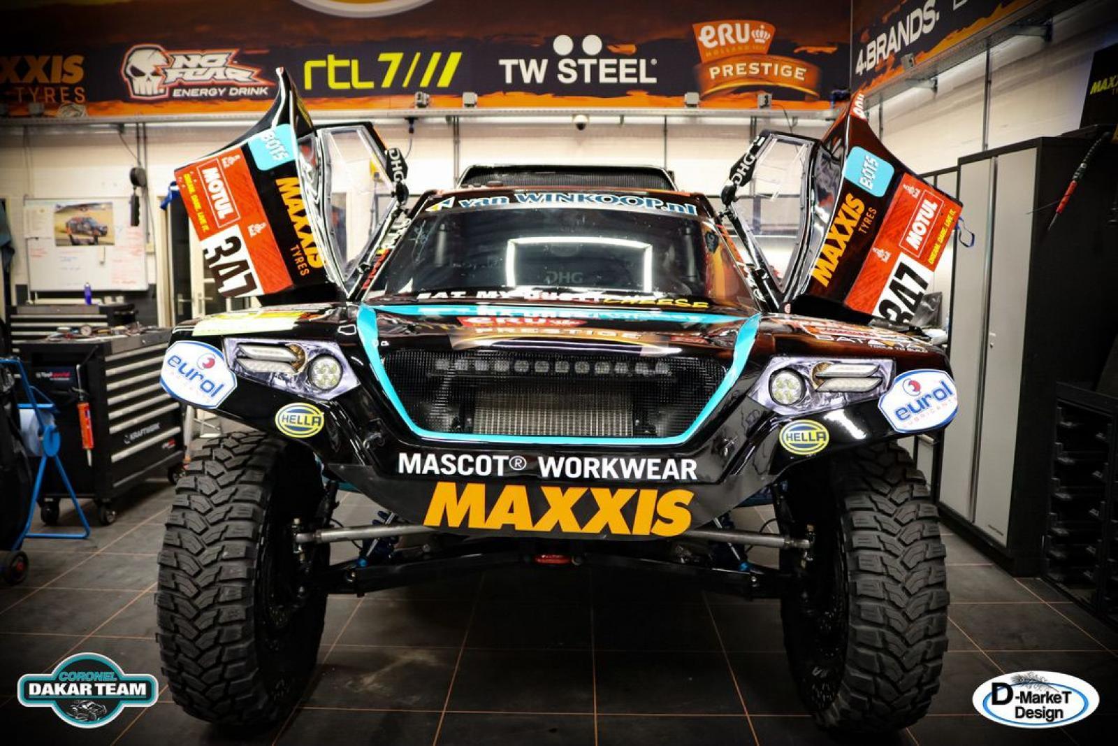Coronel Dakar Score Buggy - 3